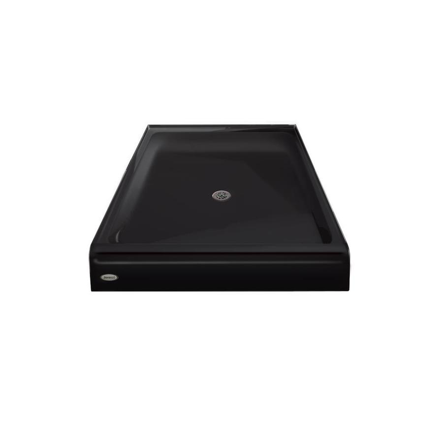 Jacuzzi Primo Black Acrylic Shower Base (Common: 48-in W x 42-in L; Actual: 48-in W x 42-in L)