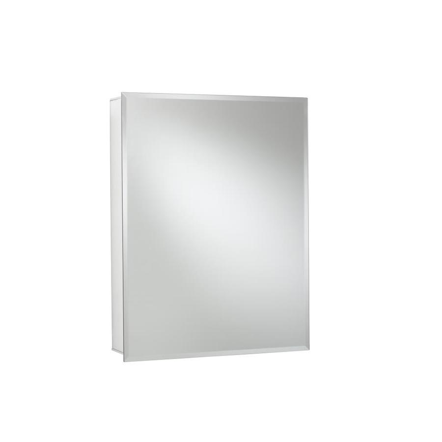 Jacuzzi 24-in x 30-in Rectangle Surface/Recessed Mirrored Aluminum Medicine Cabinet