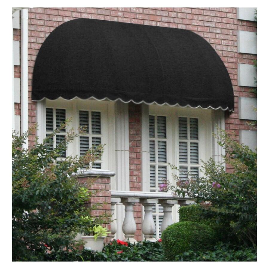 "Awntech 6' Beauty-Mark� Chicago� (44""H X 36""D) Window/Entry Awning / Black"
