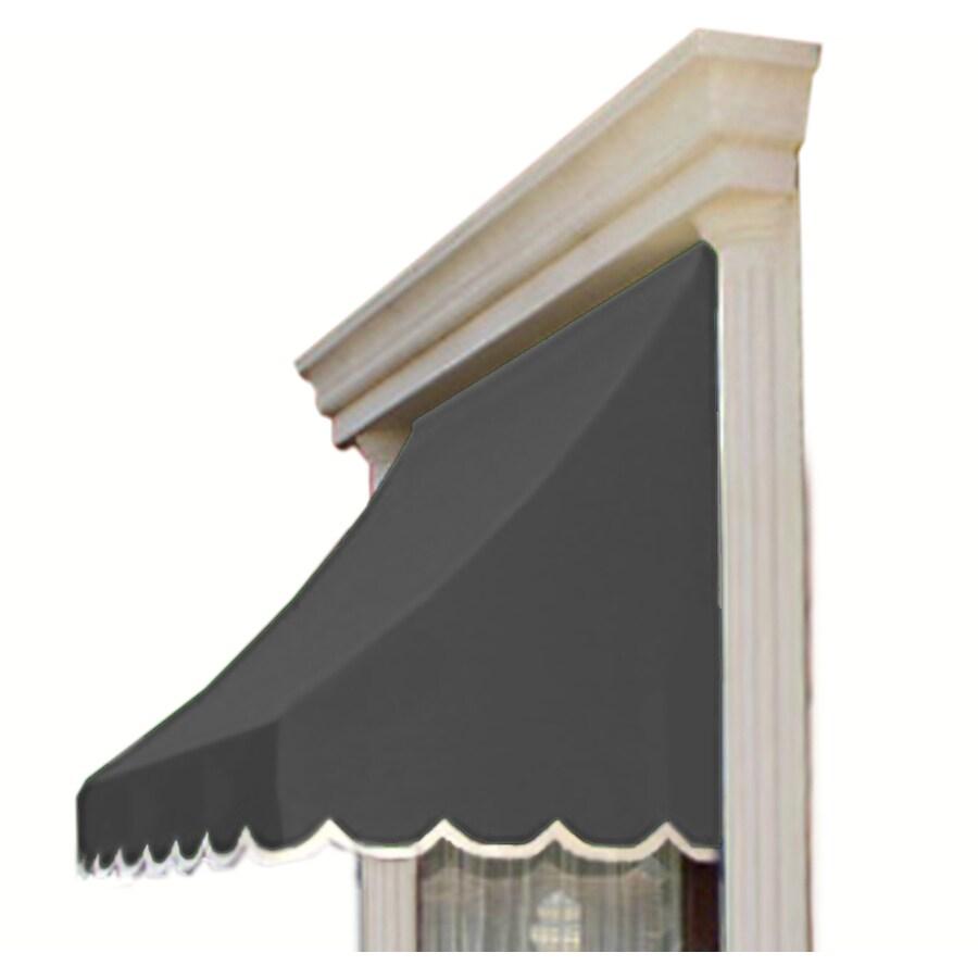 """Awntech 4' Beauty-Mark� Nantucket� (44""""H X 36""""D) Window/Entry Awning / Gray"""