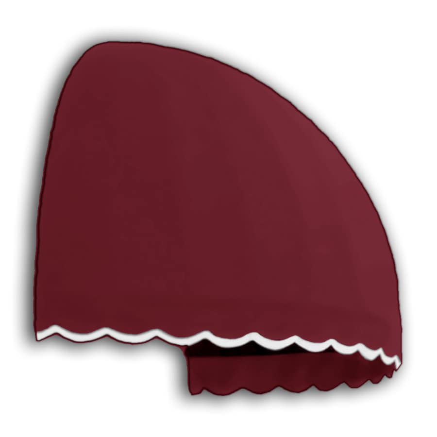 "Awntech� 6' Beauty-Mark� Bostonian (58""H x 51""D Window / Entry Awning - Burgundy"