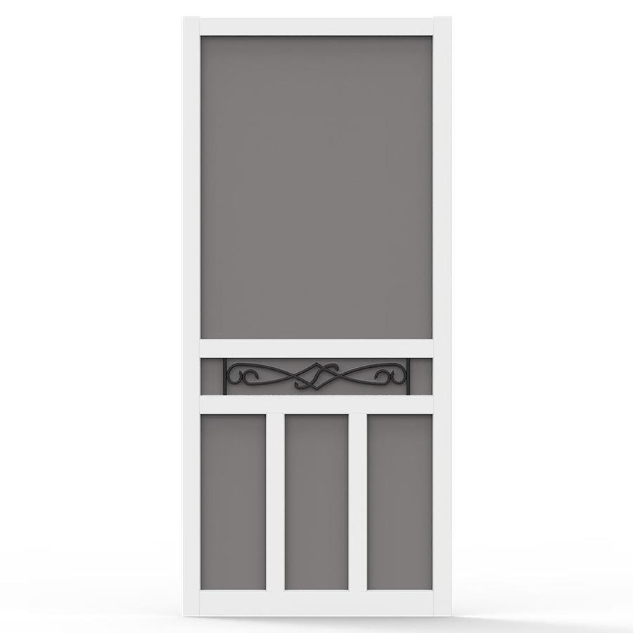 Screen Tight Vinyl Screen Door (Common: 32-in x 80-in; Actual: 32-in x 80-in)