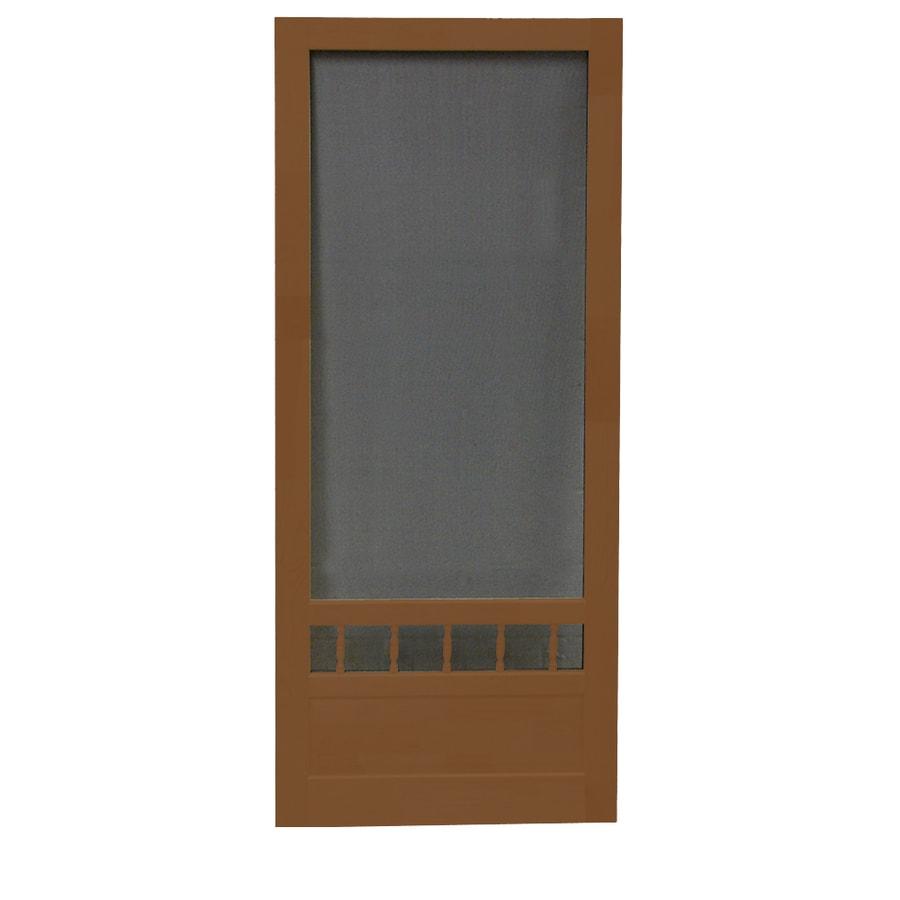 Screen Tight Wood Screen Door (Common: 32-in x 80-in; Actual: 32-in x 80-in)