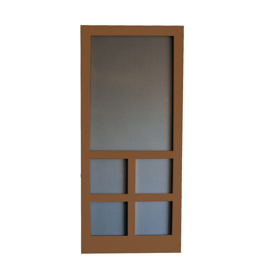 Screen Tight Wood Screen Door (Common: 30-in x 80-in; Actual: 30-in x 80-in)
