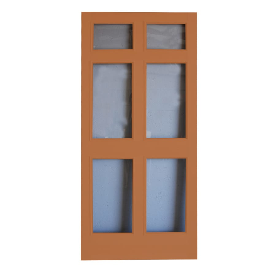Screen Tight Regal Tempered Fixed Full-View Glass Storm Door (Common: 36-in x 80-in; Actual: 36-in x 80-in)