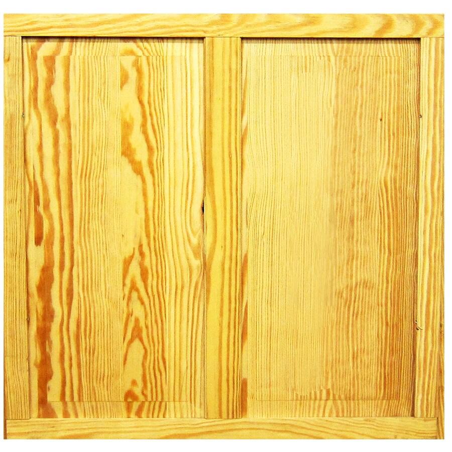 Shop screen tight pioneer wood screen door insert at for Wood screen doors
