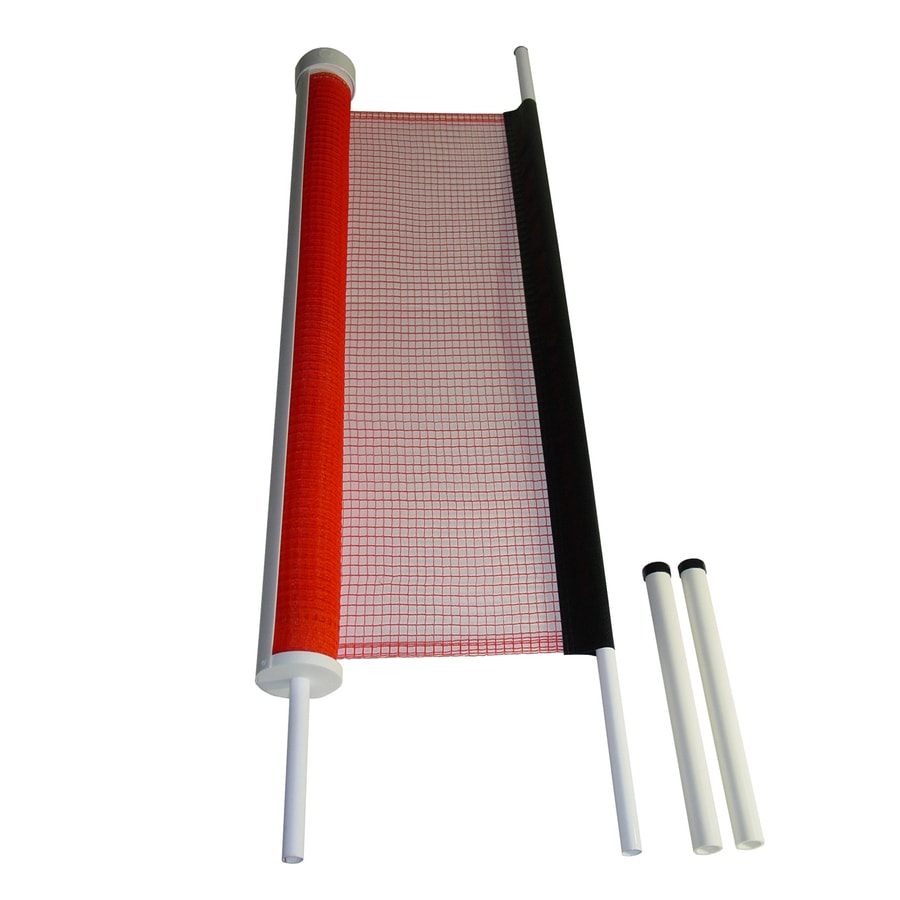 "KidKusion 36"" H x 25-ft L Orange Retractable Driveway Guard"