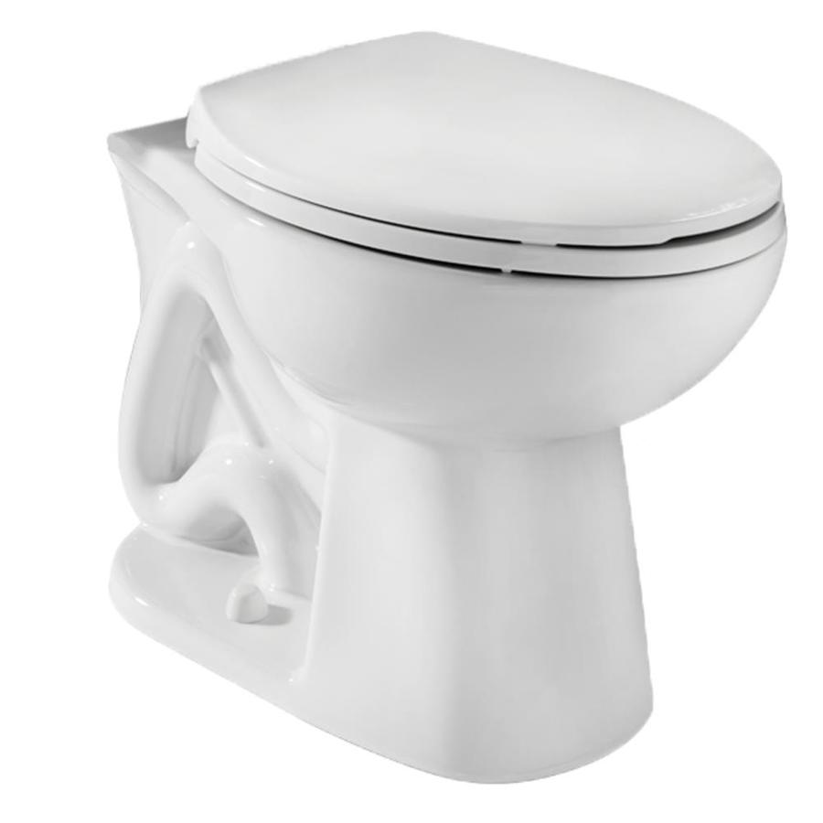Niagara Conservation Stealth Standard Height White 12-in Rough-In Pressure Assist Round Toilet Bowl