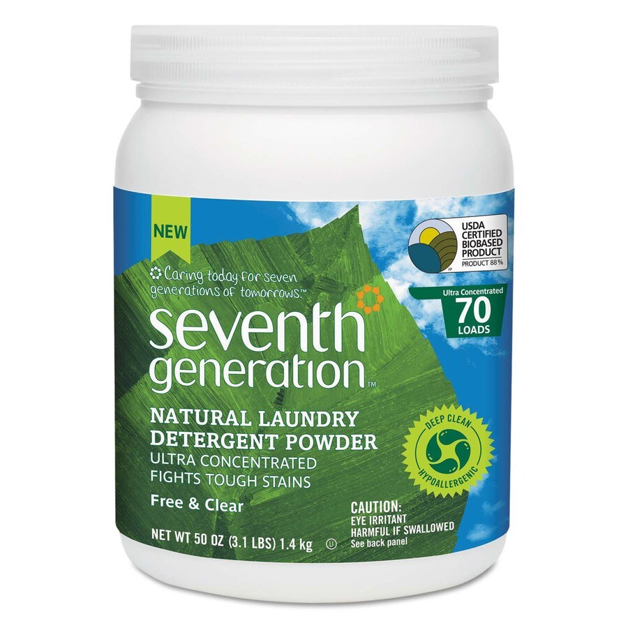 Seventh Generation 50-oz Unscented HE Laundry Detergent