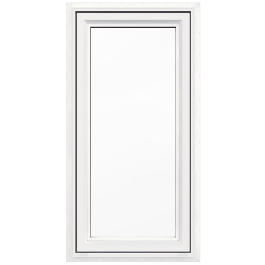 Shop jeld wen v4500 1 lite vinyl double pane double for Vinyl casement windows