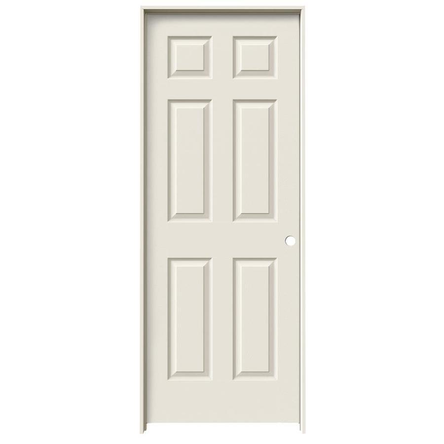 ReliaBilt Prehung Hollow Core 6-Panel Interior Door (Common: 24-in x 80-in; Actual: 25.5-in x 81.5-in)