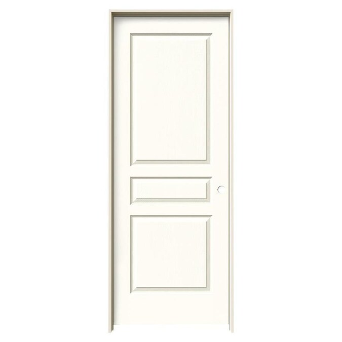 JELD-WEN Avalon Moonglow 3-Panel Square Hollow Core Molded