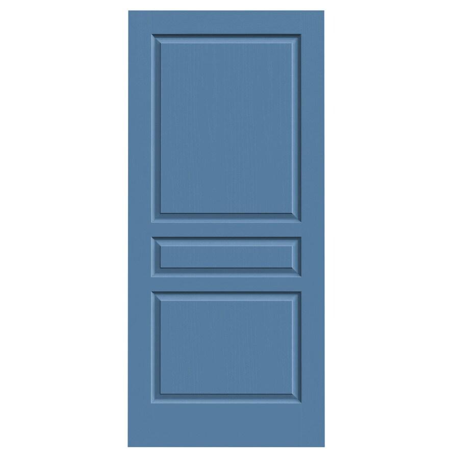 JELD-WEN Blue Heron Solid Core 3-Panel Square Slab Interior Door (Common: 36-in x 80-in; Actual: 36-in x 80-in)