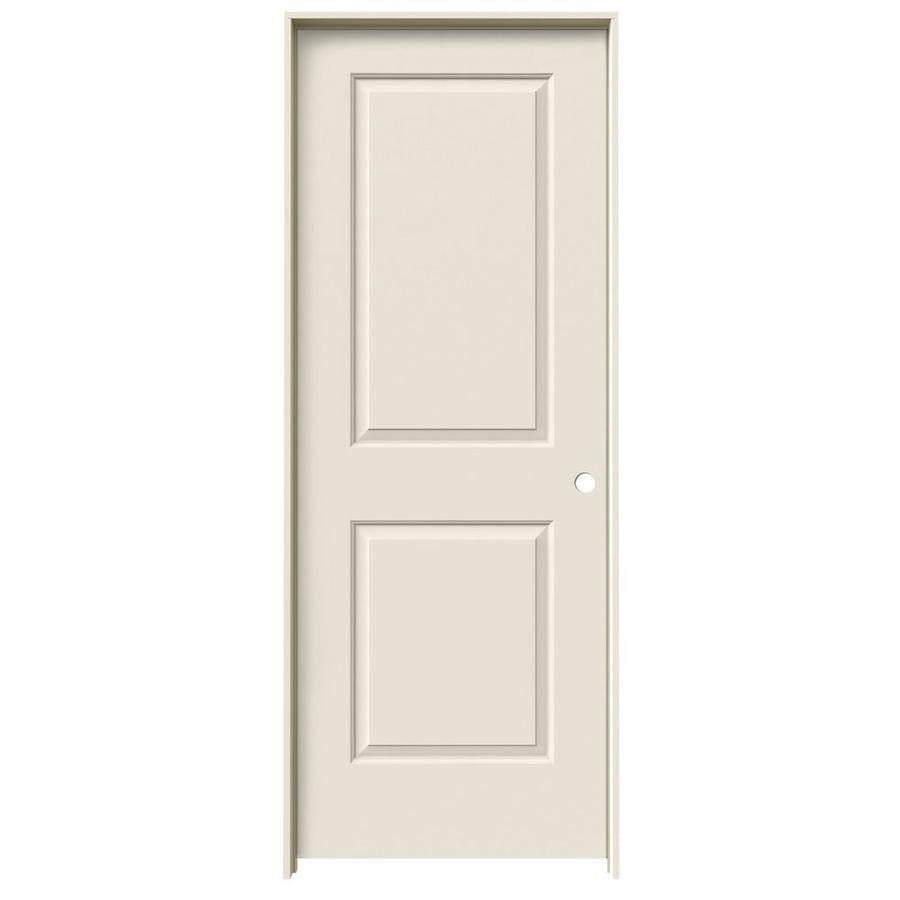 ReliaBilt Prehung Hollow Core 2-Panel Square Interior Door (Common: 24-in x 80-in; Actual: 25.562-in x 81.688-in)