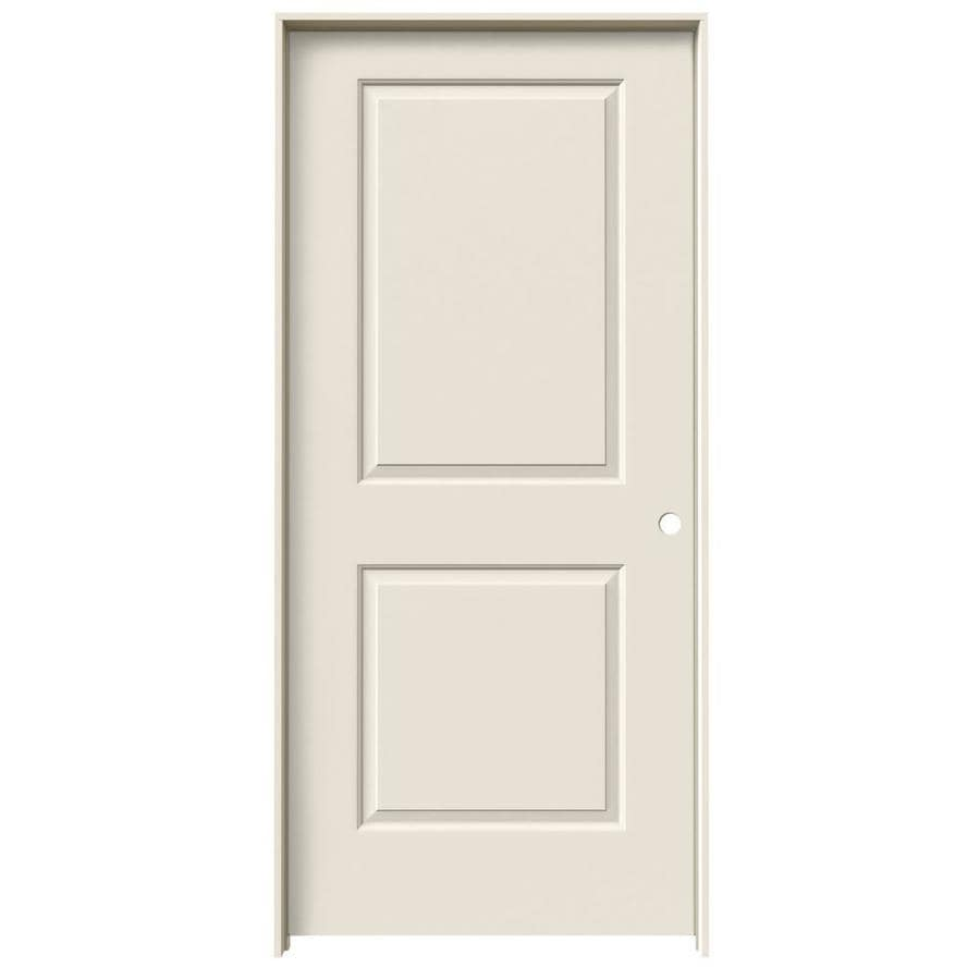 ReliaBilt Prehung Hollow Core 2-Panel Square Interior Door (Common: 36-in x 80-in; Actual: 37.562-in x 81.688-in)