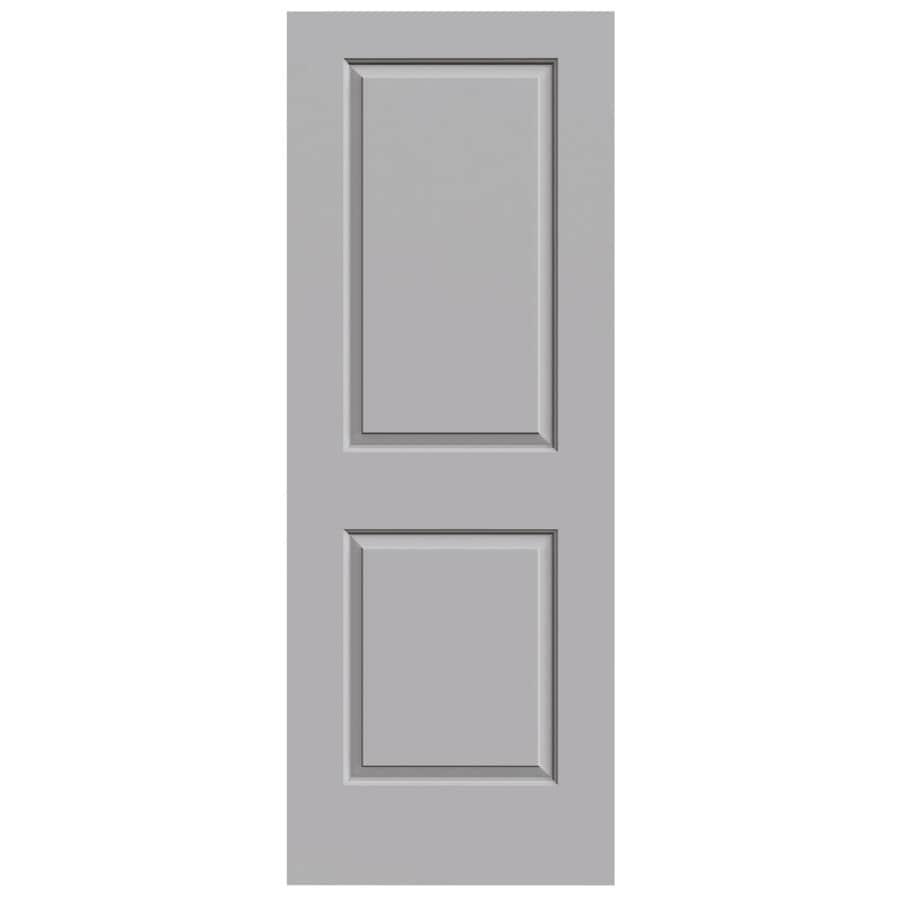 JELD-WEN Driftwood Hollow Core 2-Panel Square Slab Interior Door (Common: 30-in x 80-in; Actual: 30-in x 80-in)