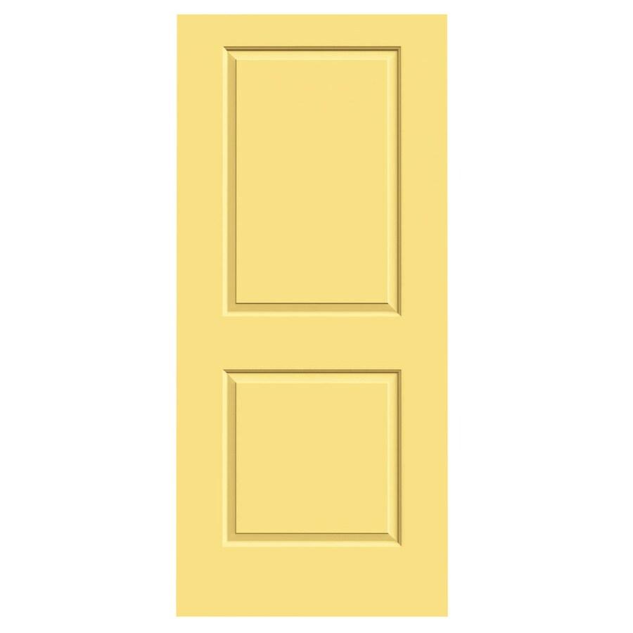 JELD-WEN Marigold Hollow Core 2-Panel Square Slab Interior Door (Common: 36-in x 80-in; Actual: 36-in x 80-in)