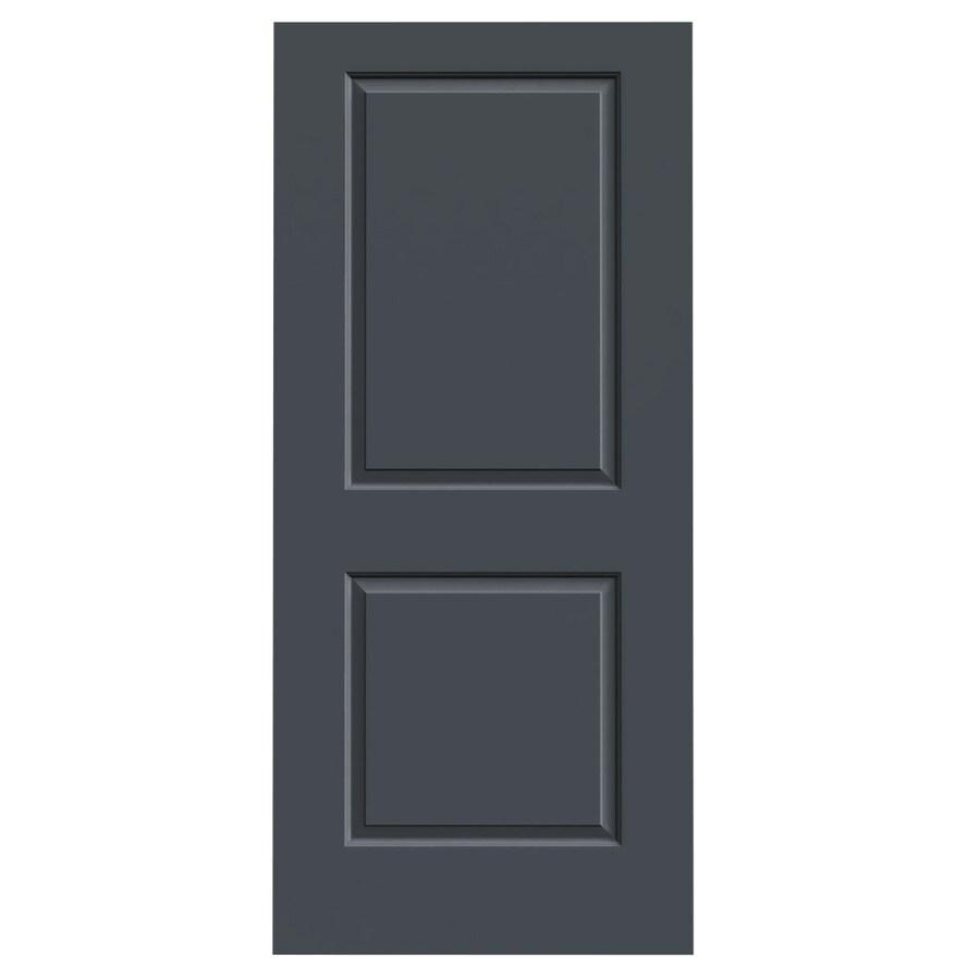 JELD-WEN Slate Hollow Core 2-Panel Square Slab Interior Door (Common: 36-in x 80-in; Actual: 36-in x 80-in)