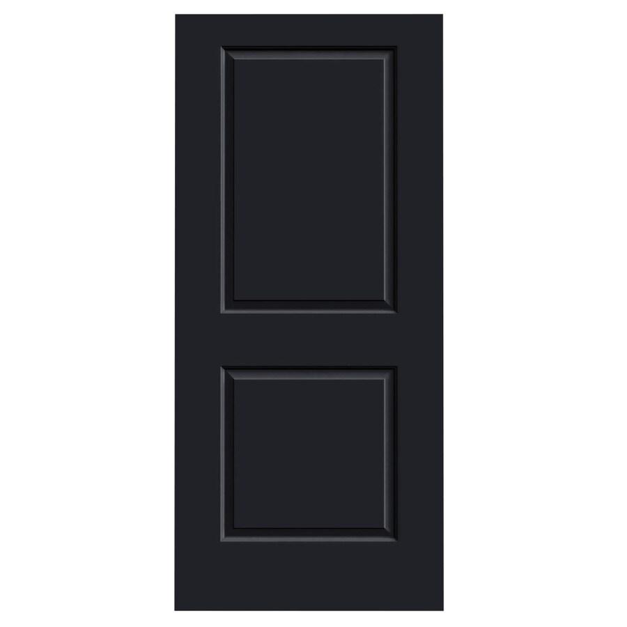 JELD-WEN Midnight Hollow Core 2-Panel Square Slab Interior Door (Common: 36-in x 80-in; Actual: 36-in x 80-in)