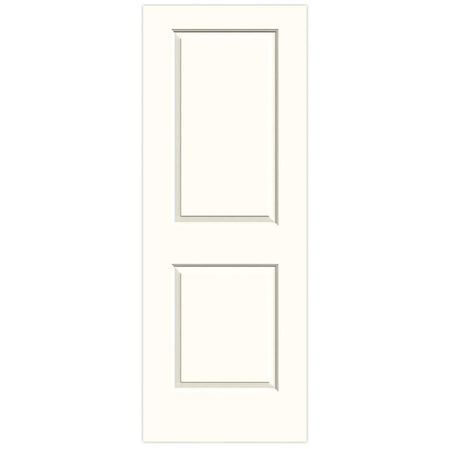 JELD-WEN Moonglow Solid Core 2-Panel Square Slab Interior Door (Common: 32-in x 80-in; Actual: 32-in x 80-in)