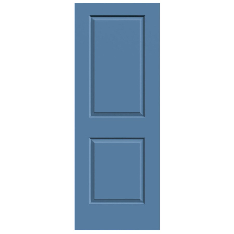 JELD-WEN Blue Heron Solid Core 2-Panel Square Slab Interior Door (Common: 30-in x 80-in; Actual: 30-in x 80-in)
