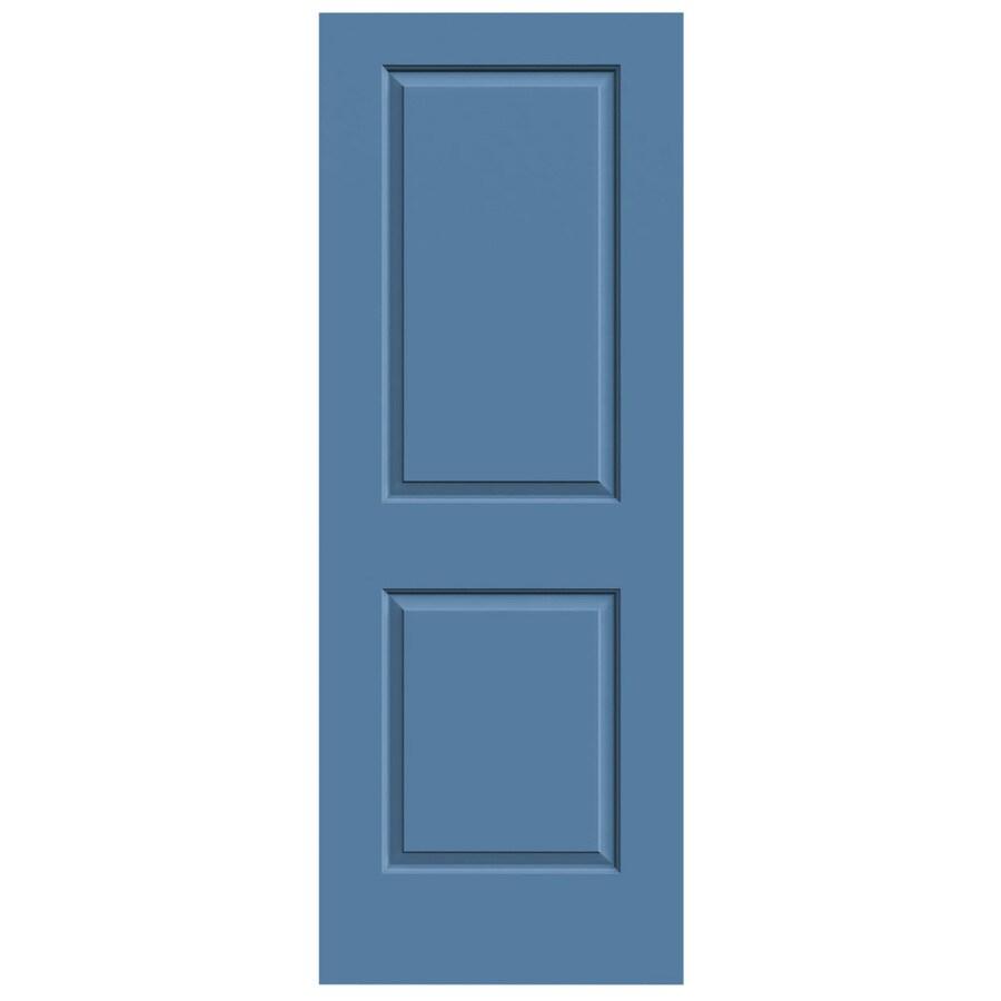 JELD-WEN Blue Heron Solid Core 2-Panel Square Slab Interior Door (Common: 32-in x 80-in; Actual: 32-in x 80-in)