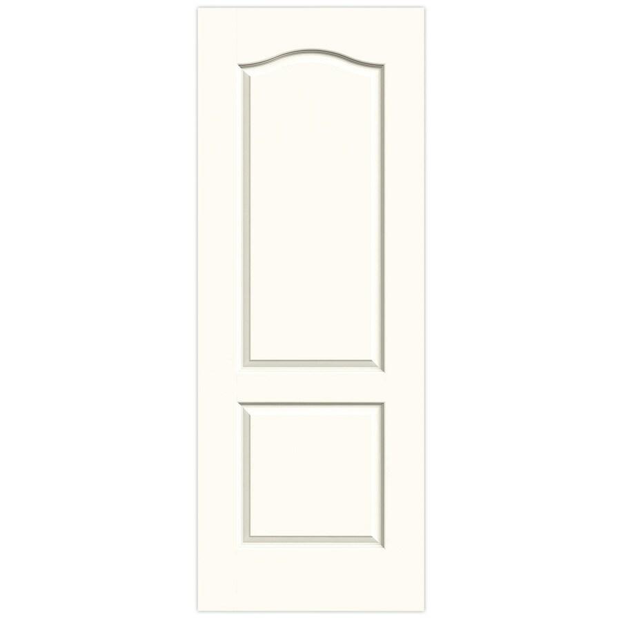 JELD-WEN White Hollow Core 2-Panel Arch Top Slab Interior Door (Common: 28-in x 80-in; Actual: 28-in x 80-in)