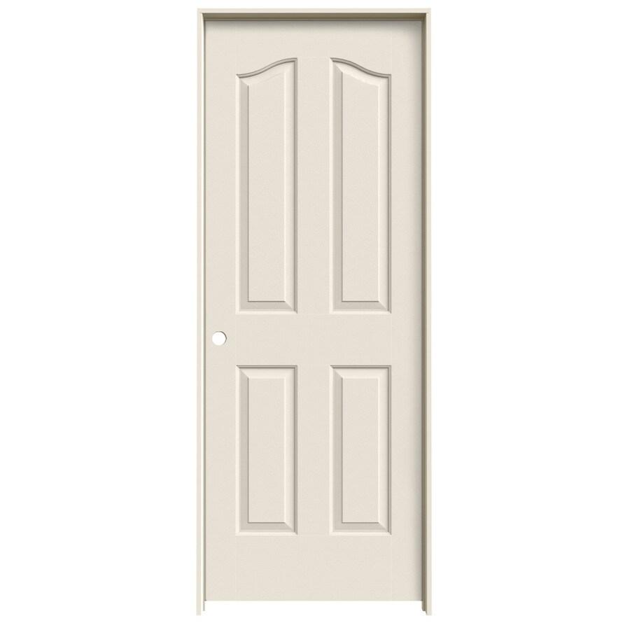 JELD-WEN Prehung Hollow Core 4-Panel Arch Top Interior Door (Common: 28-in x 80-in; Actual: 29.562-in x 81.69-in)