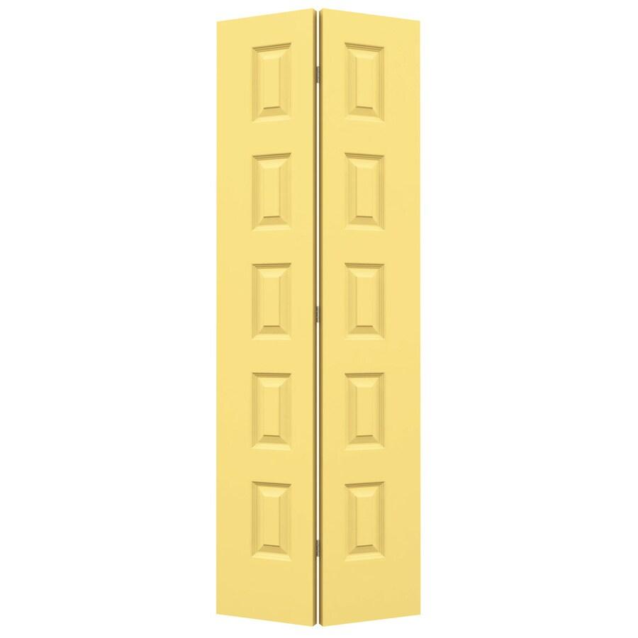 JELD-WEN Marigold Hollow Core 5-Panel Equal Bi-Fold Closet Interior Door (Common: 24-in x 80-in; Actual: 23.5-in x 79-in)