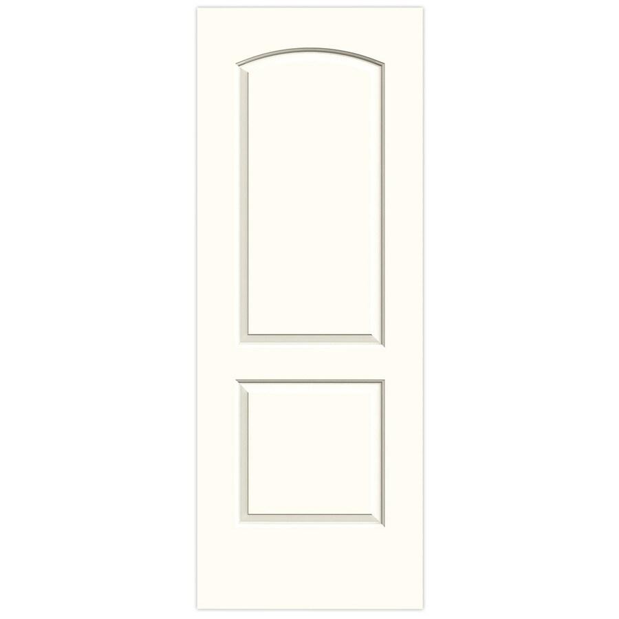 JELD-WEN Moonglow Hollow Core 2-Panel Round Top Slab Interior Door (Common: 30-in x 80-in; Actual: 30-in x 80-in)