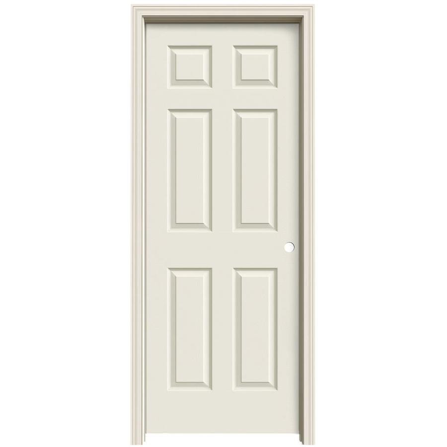 ReliaBilt Prehung Solid Core 6-Panel Interior Door (Common: 24-in x 80-in; Actual: 25.563-in x 81.063-in)