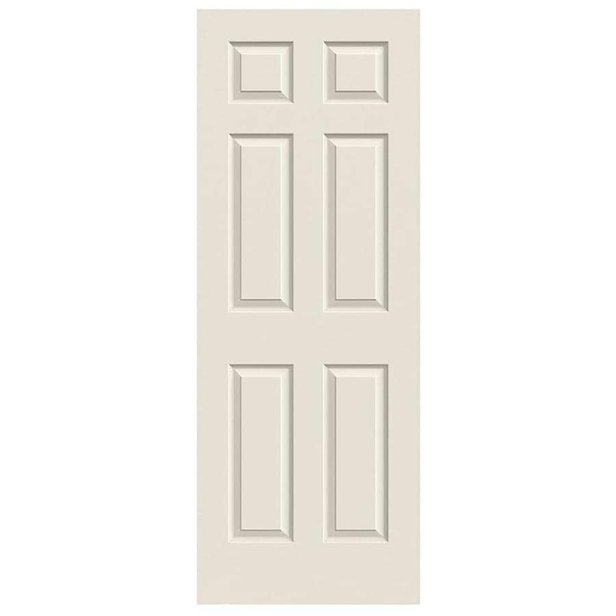 JELD-WEN Hollow Core 6-Panel Slab Interior Door (Common: 28-in x 80-in; Actual: 28-in x 80-in)