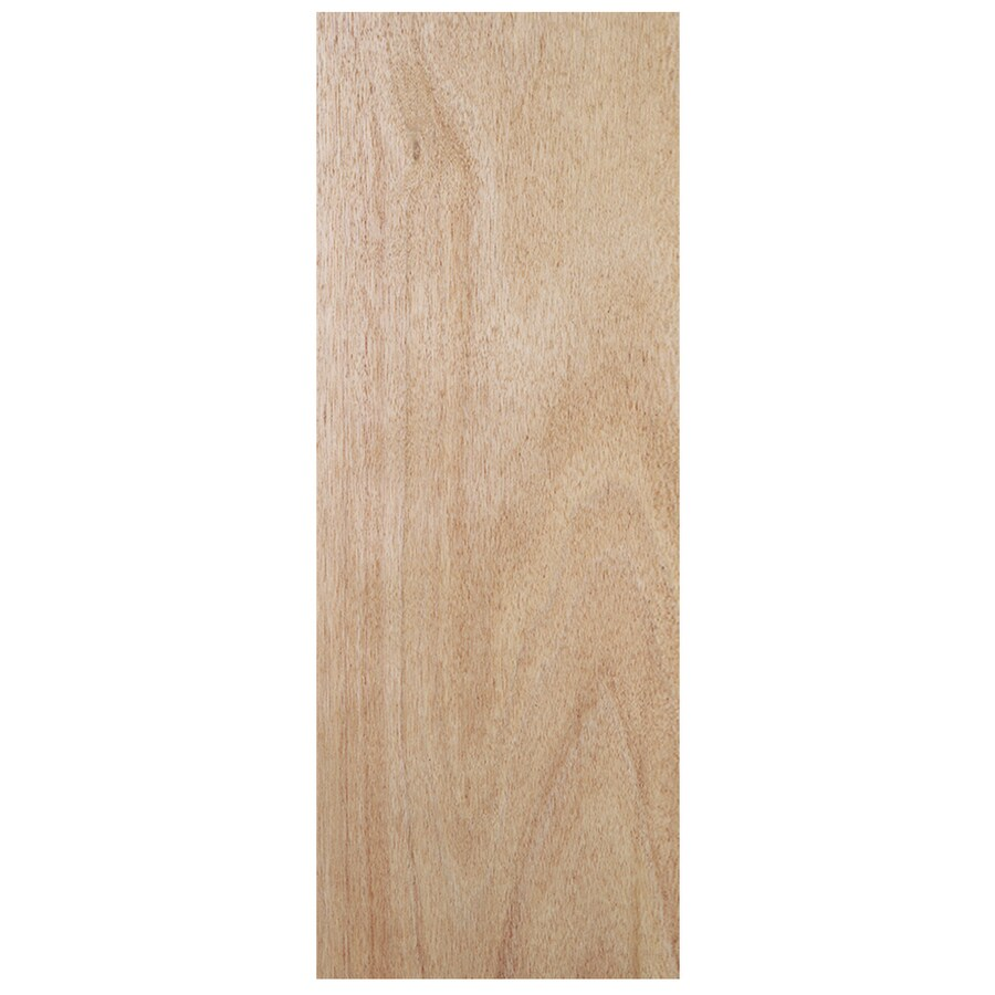 JELD-WEN Hollow Core Flush Lauan Slab Interior Door (Common: 32-in x 80-in; Actual: 32-in x 80-in)