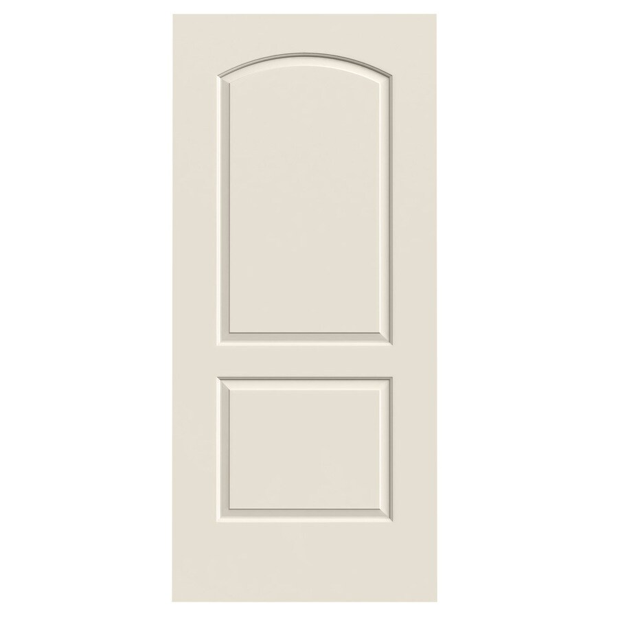 JELD-WEN Hollow Core 2-Panel Round Top Slab Interior Door (Common: 32-in x 80-in; Actual: 32-in x 80-in)