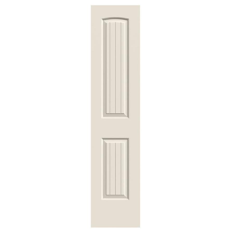 JELD-WEN Hollow Core 2-Panel Round Top Plank Slab Interior Door (Common: 18-in x 80-in; Actual: 18-in x 80-in)
