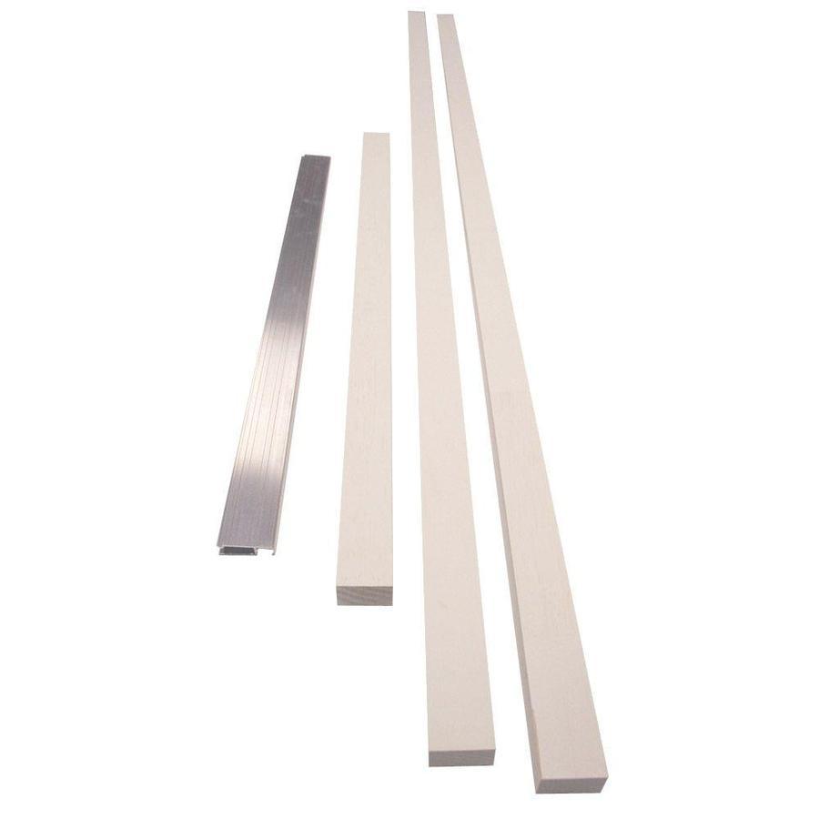 JELD-WEN 1-Panel Insulating Core Primed Unfinished Prehung Entry Door (Common: 72-in x 80-in; Actual: 73.5-in x 81.75-in)