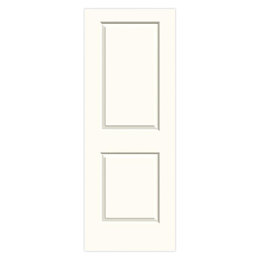JELD-WEN Cambridge White Hollow Core 2-Panel Square Slab Interior Door (Common: 30-in x 80-in; Actual: 30-in x 80-in)