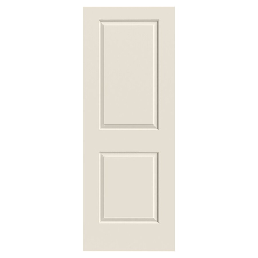 JELD-WEN Cambridge Solid Core 2-Panel Square Slab Interior Door (Common: 30-in x 80-in; Actual: 30-in x 80-in)