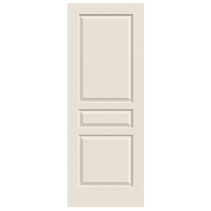 JELD-WEN (Primed) Hollow Core 3-Panel Square Slab Interior Door (Common: 30-in x 80-in; Actual: 30-in x 80-in)