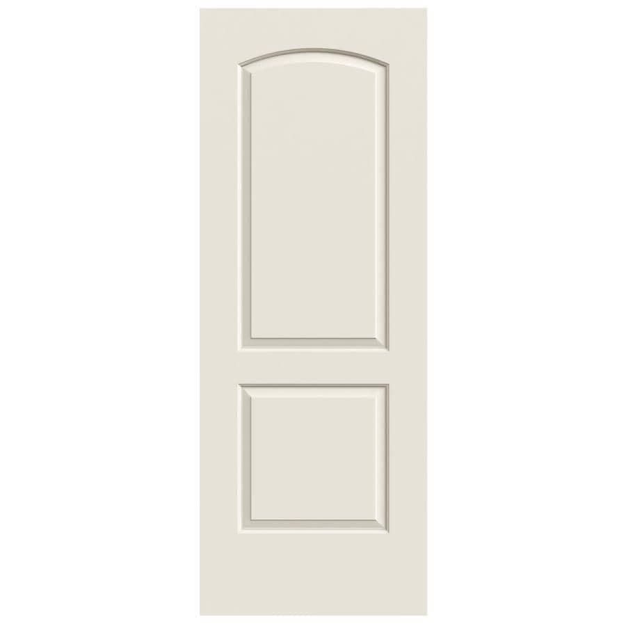ReliaBilt Hollow Core 2-Panel Round Top Slab Interior Door (Common: 28-in x 80-in; Actual: 28-in x 80-in)