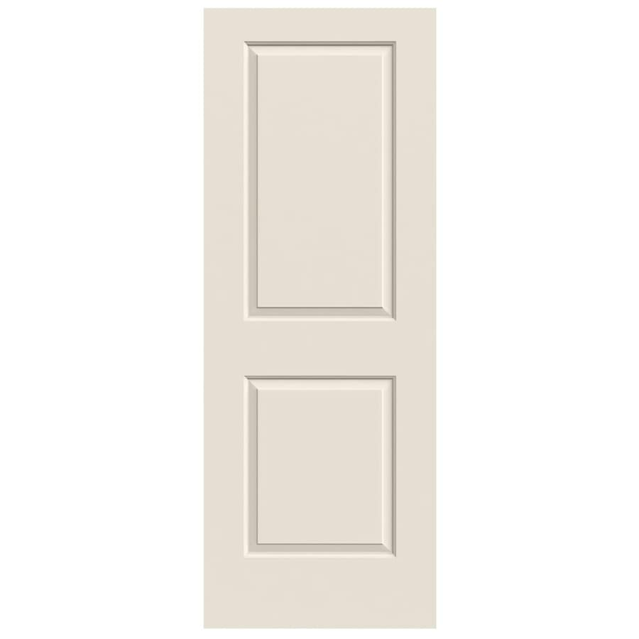JELD-WEN (Primed) Solid Core 2-Panel Square Slab Interior Door (Common: 32-in x 80-in; Actual: 32-in x 80-in)