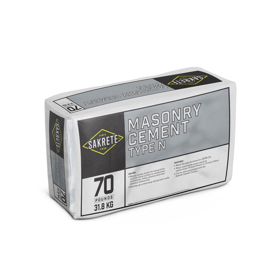 Sakrete 70-lb Gray Type-N Cement Mix