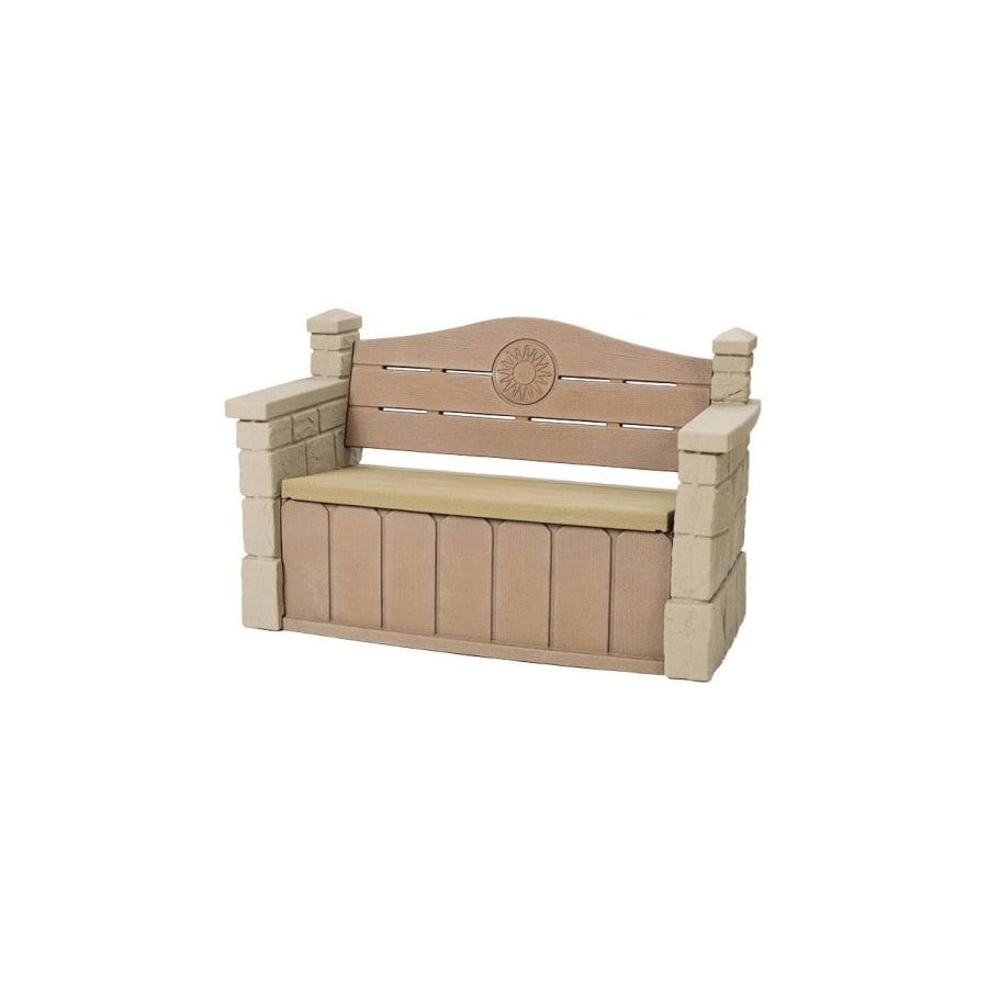 Outdoor Storage Bench Lowes 28 Images Shop Suncast 21 In W X 52 75 In L Patio Bench At Lowes