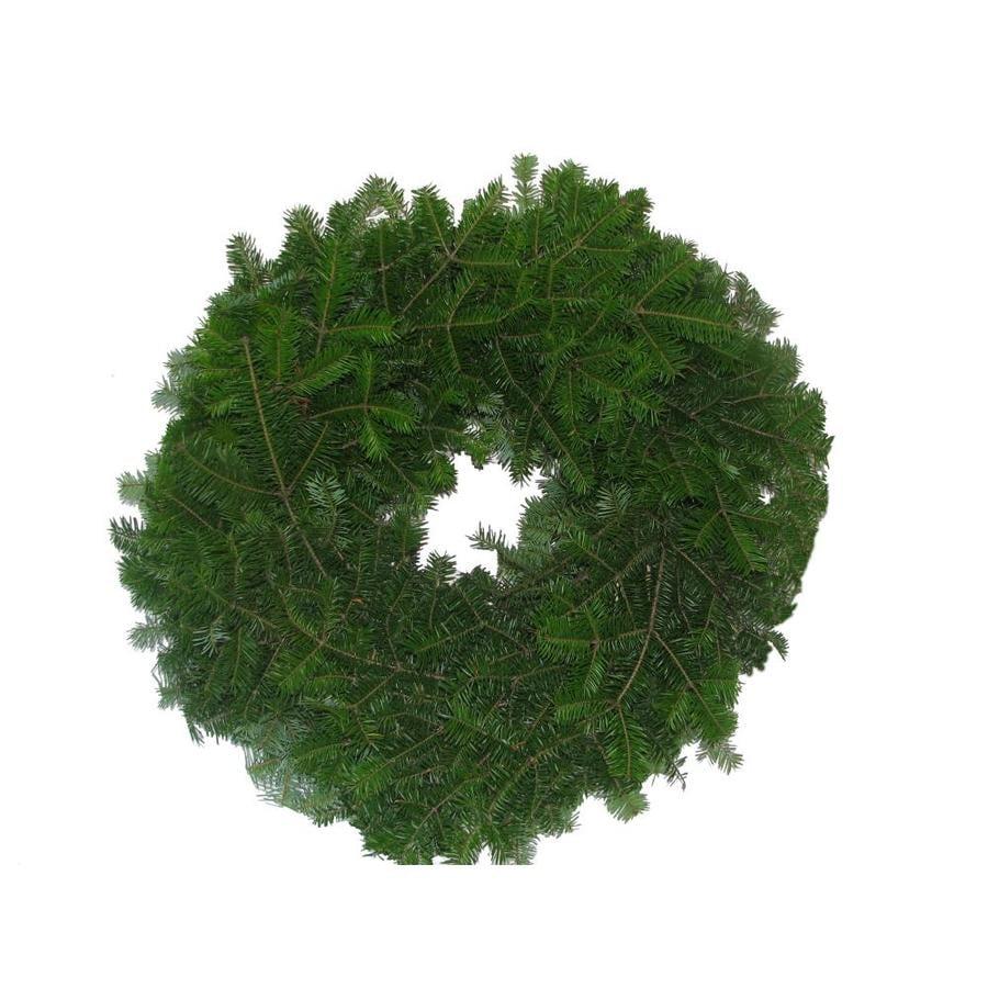 22-in Fresh Balsam Fir Christmas Wreath