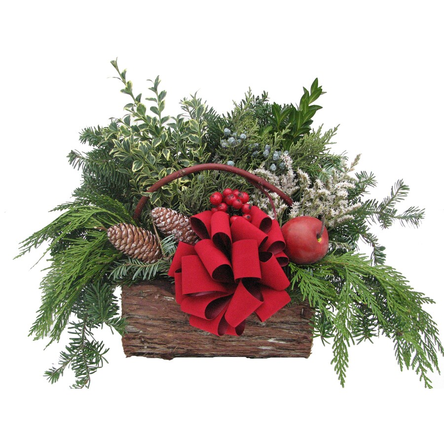 Fresh Christmas Centerpiece