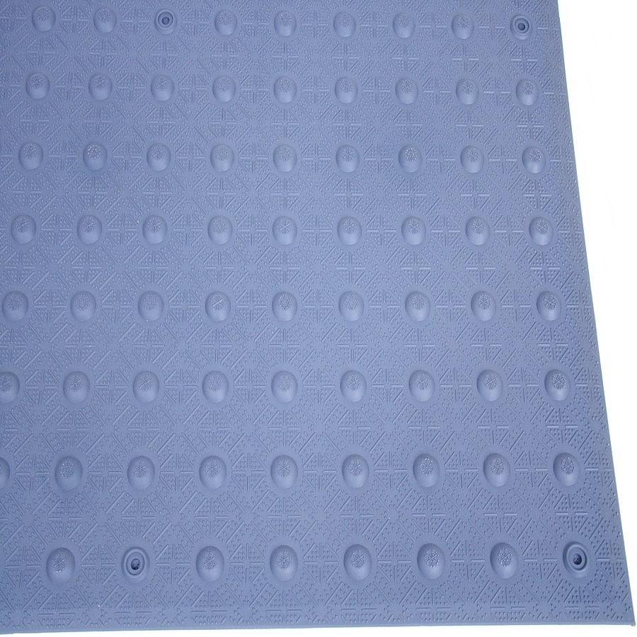 Three D Traffic Works 3-ft x 2-1/2-ft Dark Gray Detectable Warning Tile