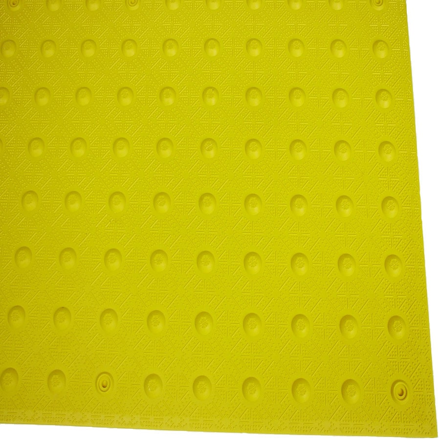 Three D Traffic Works 3-ft x 4-ft Yellow Detectable Warning Tile