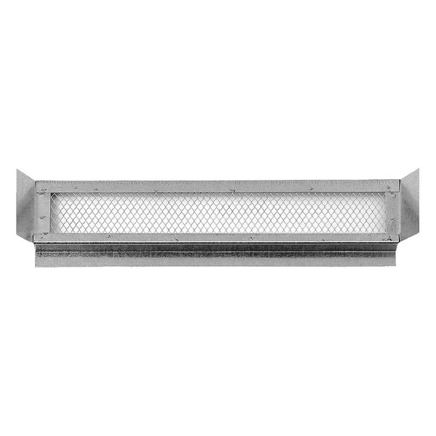 CMI 24.25-in L Metallic Galvanized Steel Soffit Vent