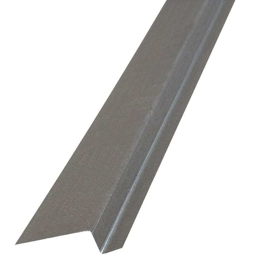 Construction Metals Inc. 2.37-in x 120-in x 0.75-in Galvanized Steel Z Flashing