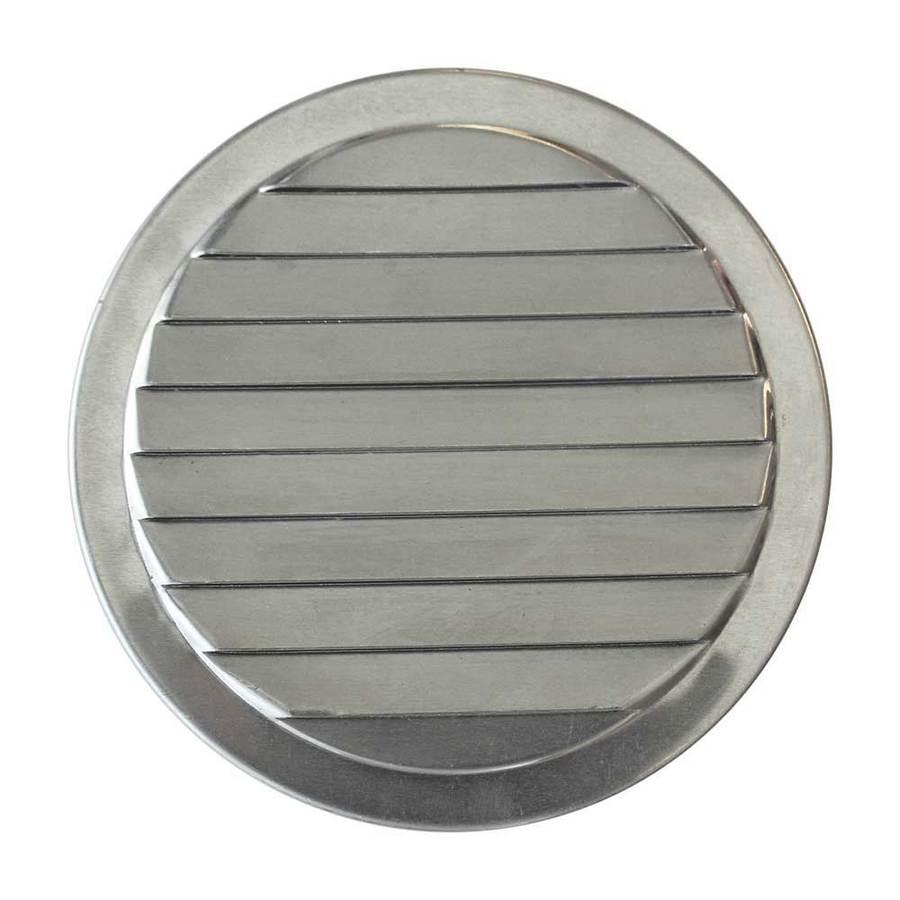 CMI 4.5-in L Silver Aluminum Soffit Vent